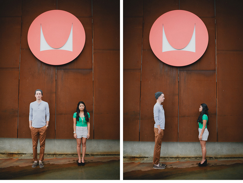 1005 Brendon & Justine. Engaged.  Herman Miller Design Center.