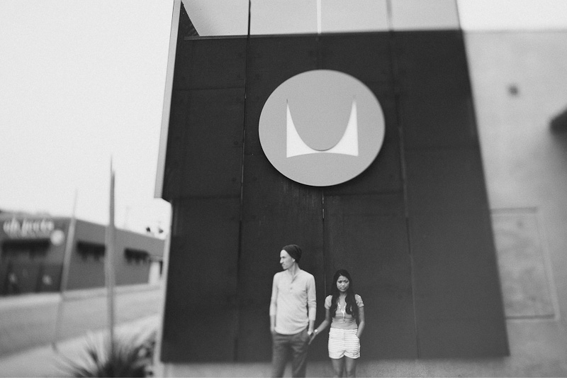 JB 191 Brendon & Justine. Engaged.  Herman Miller Design Center.